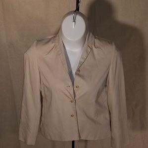 Tan 4 button blazer